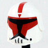 CWP1 Snow Red ARC Helmet