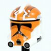 P2 332nd Vaughn Orange Helmet